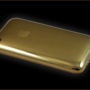 22ct solid gold iphone 3GS-back
