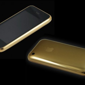 22ct solid gold iphone 3GS