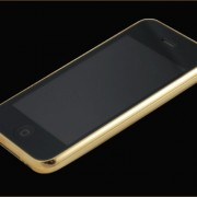 22ct solid gold iphone 3GS-front