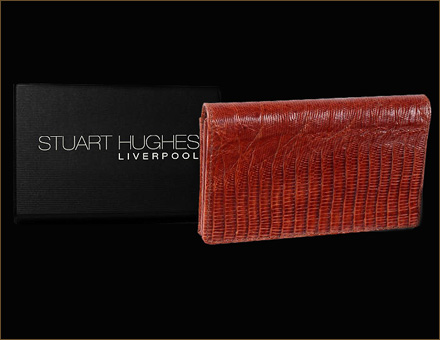 Stuart Hughes Luxury Mobile Phone Ostrich Skin Case