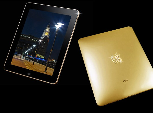 The solid Gold ipad SUPREME Edition