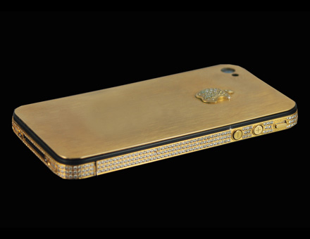 Stuart Hughes Iphone 4s Elite Gold The Worlds Most