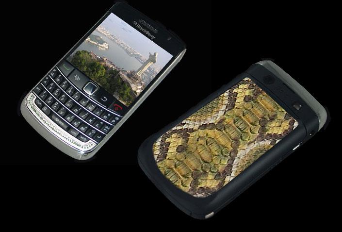 Stuart Hughes Diamond Blackberry 9700 Bold II Brazil ...