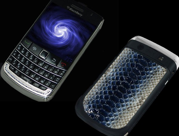 Diamond BlackBerry 9700 Bold II Royal Blue
