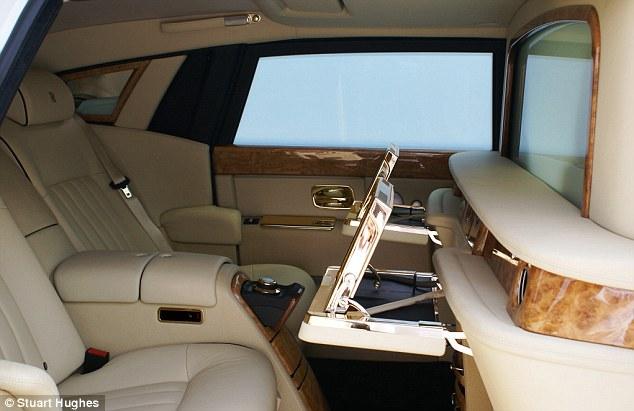 Stuart Hughes Rolls Royce Phantom Solid Gold - Stuart Hughes