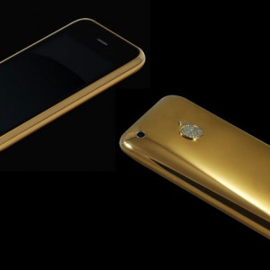 22ct solid gold iphone 3GS Diamond