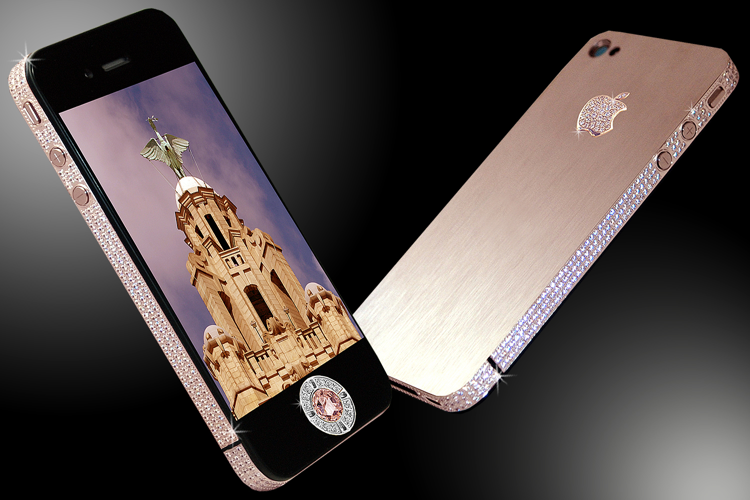 Image result for iPhone 4 DIAMOND ROSE EDITION