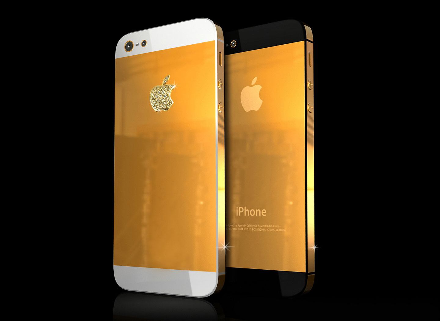 Iphone  Gold Edition