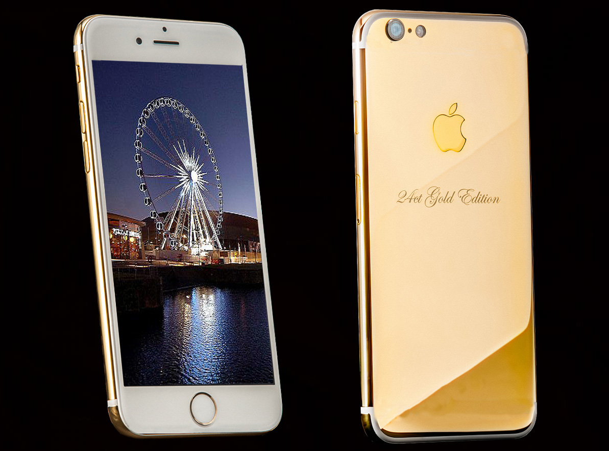 Iphone 7 Solid 24ct Gold Edition