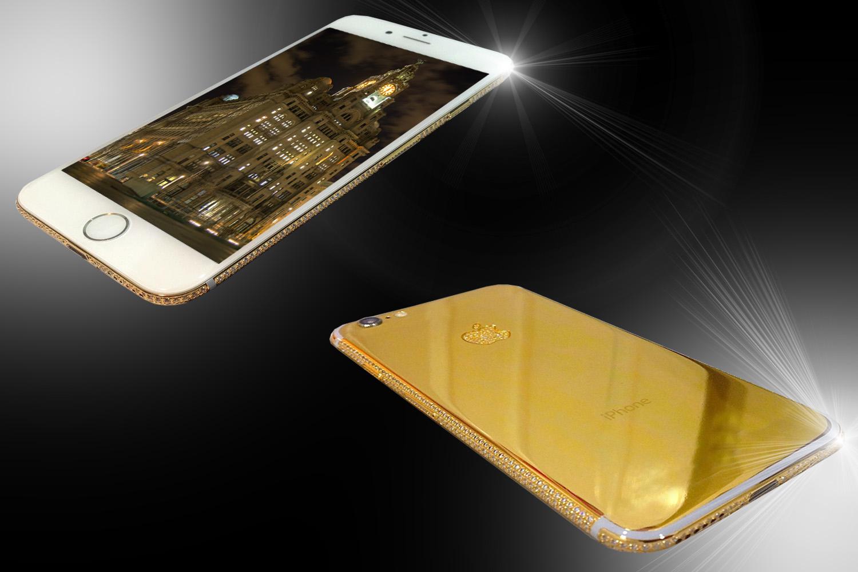 24ct Gold IPhone 8 Unique Edition