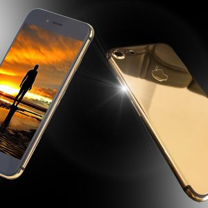 24ct Gold IPhone 8