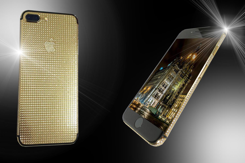 24ct Gold IPhone 8 Plus Unique Brilliance Edition