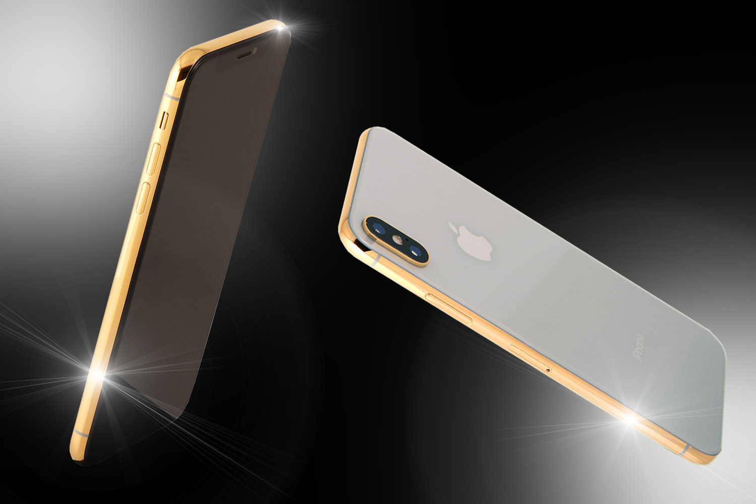 24ct Gold IPhone X Demi Edition