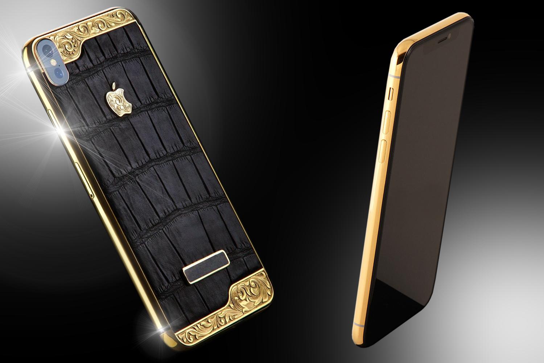24ct Gold IPhone X Vintage Noir Edition