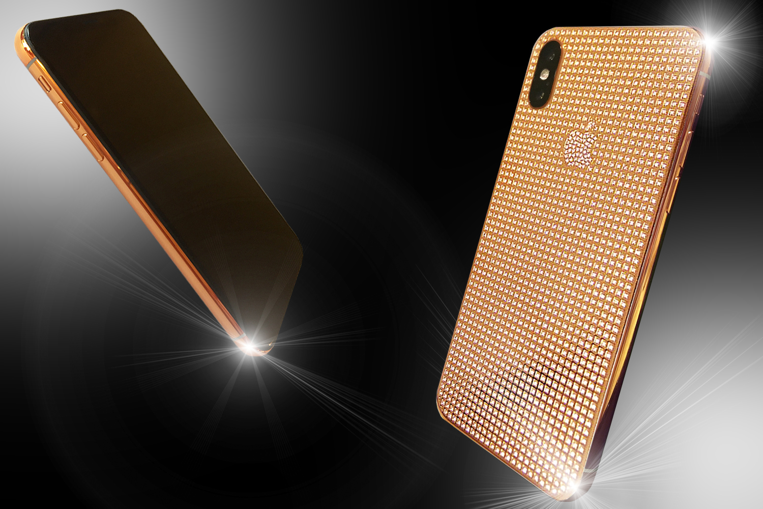 18ct Rose Gold IPhone X Brilliance Edition