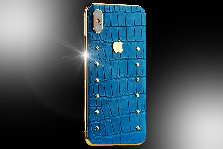 reputable site 0434e 38d66 24ct Gold iphone XS Sky Edition - Stuart Hughes