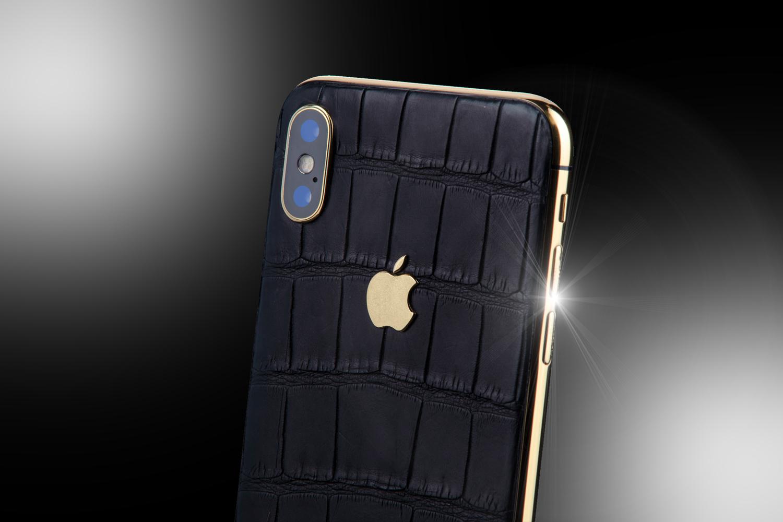 best authentic a2b7f 8f256 24ct Gold iPhone XS Black Edition - Stuart Hughes