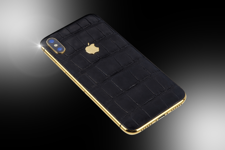 stuart hughes 24ct gold iphone xs black edition stuart hughes