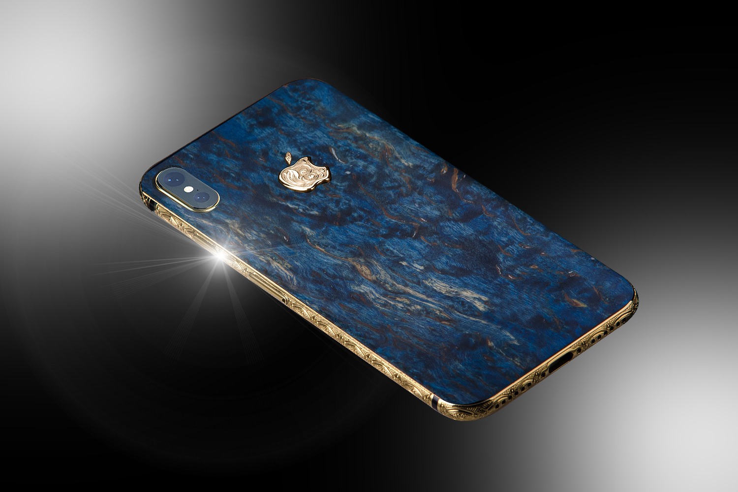 reputable site 792a3 55819 24ct Gold iPhone XS Vintage Royal Edition - Stuart Hughes