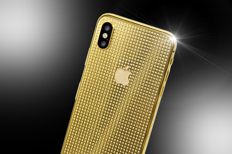 Stuart Hughes 24ct Gold Iphone Xs Unique Brilliance