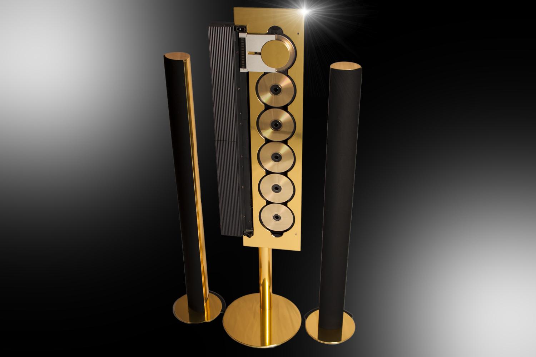 stuart hughes 24ct gold bang olufsen beosound 9000. Black Bedroom Furniture Sets. Home Design Ideas